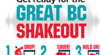 "The Great British Columbia ShakeOut is an annual opportunity to practice how to be safer during big earthquakes: ""Drop, Cover, and Hold On."" […]"