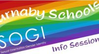 The Burnaby School District invites parents and students from theCariboo-Lougheed school zoneto attend an info session about SOGI education in Burnaby Schools. Review Burnaby School District's […]