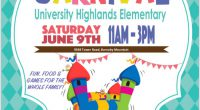 Please join us for our annual UHE Carnival on Saturday, June 9th 11:00-3:00!