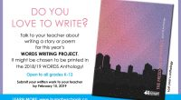 Talk to your teacher about writing a story or poem for this year's Burnaby Words Writing Project.  All entries must be submitted to your teacher by […]
