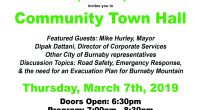 On March 7th at 7:00pm the UniverCity Community Association will be holding its second Town Hall.  The focus of this Town Hall will be safety concerns, specifically an upcoming petition […]