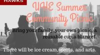 Please join us for our first Summer Community Picnic at University on Thursday, June 20 from 5:30-8:00!