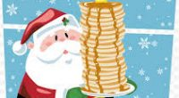 Join us for our annual Pajama Pancake Breakfast between 9:00-10:30!
