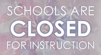 Due to weather conditions, all schools in the District are CLOSED for instruction. This decision was made after careful consideration of all of the circumstances.