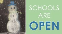 Schools are OPEN. Please dress warmly, drive or walk with care and give yourself extra time to get there. If you feel your student can't travel safely to school, please […]