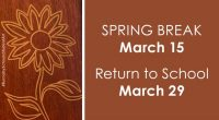 On behalf of the staff at University Highlands Elementary, we wish you and your families a safe and joyful Spring Break. See you on March 29th!